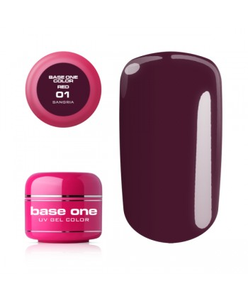 Base one red gel - Sangria 01