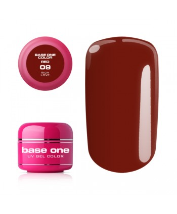 Base one red gel - Rich...