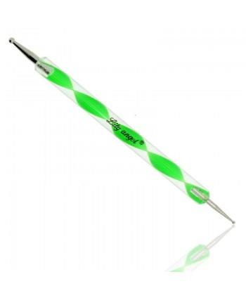 Zdobící pero zelené