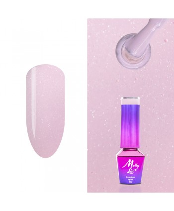473. MOLLY LAC gél lak -  Macarons Pink Sugar 5ml