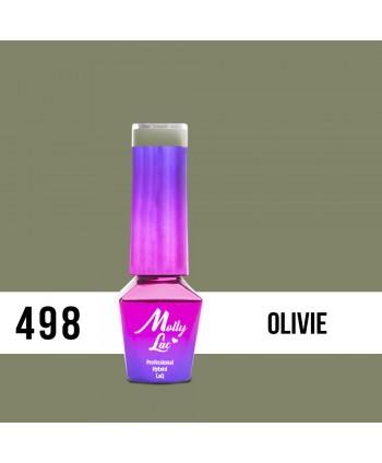 498. MOLLY LAC gél lak AntiDepressant Olivie 5ml