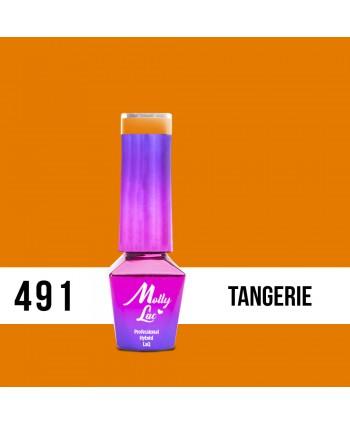 491. MOLLY LAC gél lak AntiDepressant Tangerie 5ml