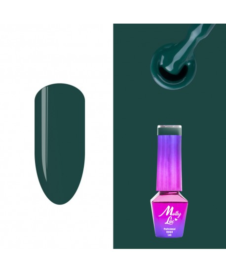 490. MOLLY LAC gel lak AntiDepressant Verte 5ml