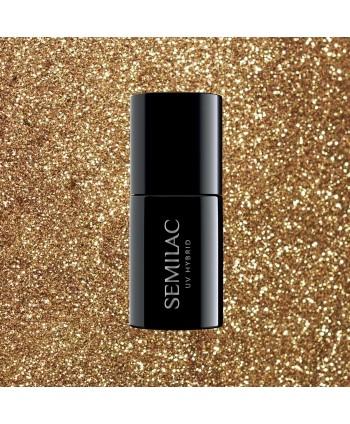 Semilac - gél lak 339 Gold Glitter 7ml