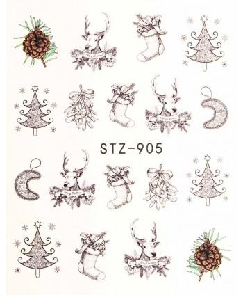 Vodonálepky na nechty STZ-905