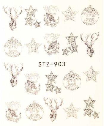 Vodonálepky na nechty STZ-903