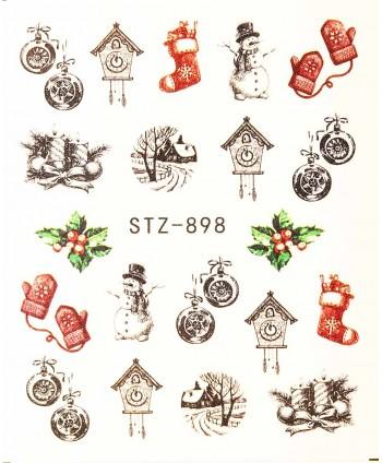 Vodonálepky na nechty STZ-898
