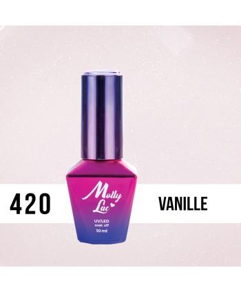 420. MOLLY LAC gél lak Madame French Vanille 10ML