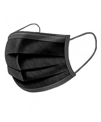 Ochranné kozmetické rúško - čierne 1 ks