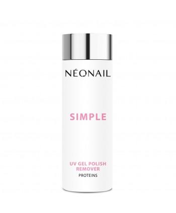 NeoNail Simple remover s proteínmi 200ml