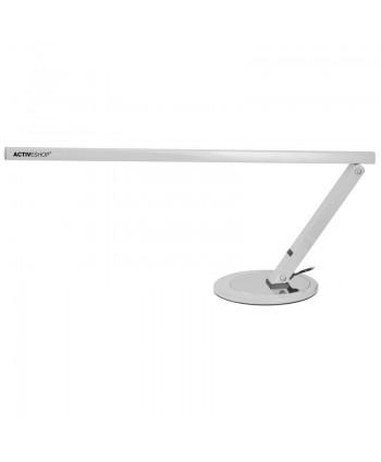 Profesionálna stolová lampa slim strieborná 20W