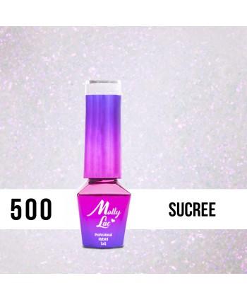 500. MOLLY LAC gél lak Bling it on! Sucree 5ml