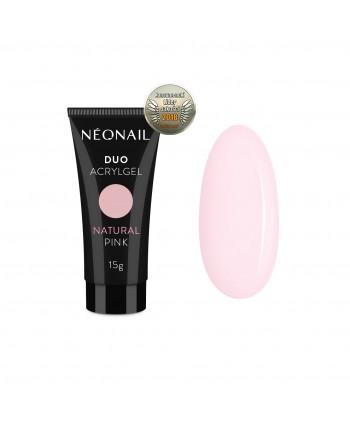NeoNail Duo Akrylgél 15 g -  Natural Pink
