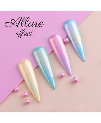 Prášok na nechty Allure efekt