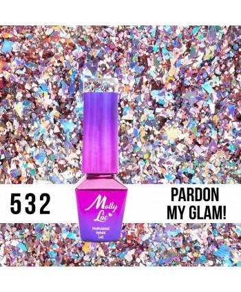 532. MOLLY LAC gél lak  Luxury - Pardon My Glam!