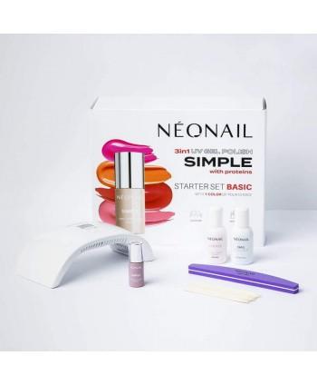 Sada na gél lak NeoNail®  SIMPLE One Step BASIC 2