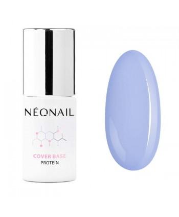 NeoNail® báza Cover Base Protein - Pastel Blue 7,2ml