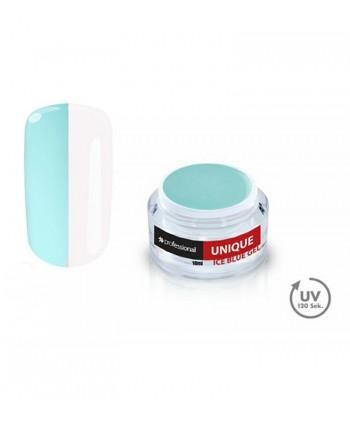UV GÉL UNIQUE ICE BLUE 15ML PROFESSIONAIL PREMIUM