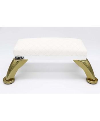 BWA biela podložka pod ruky - zlaté nohy