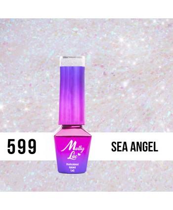 599. MOLLY LAC gél lak - Sea Angel 5 ml