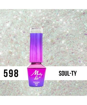 598. MOLLY LAC gél lak - Soul-Ty 5 ml