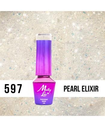 597. MOLLY LAC gél lak - Pearl Elixir 5 ml