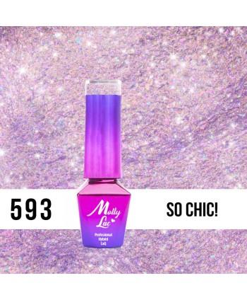 593. MOLLY LAC gél lak - So Chic! 5 ml