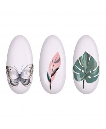 NeoNail® vodolepka na nechty listy a kvety NN12