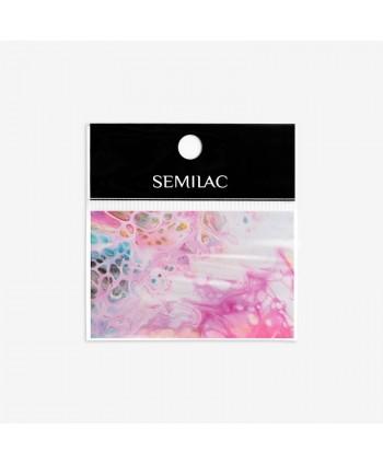 08 Semilac transfér fólia Rainbow Marble