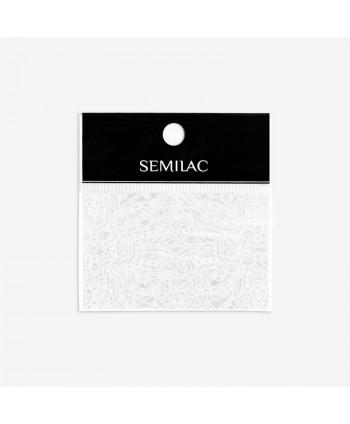 15 Semilac transfér fólia White Lace