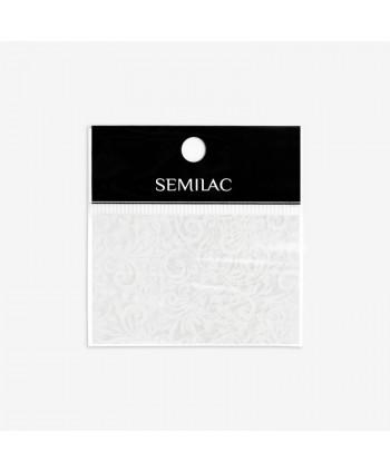 13 Semilac transfér fólia White Lace