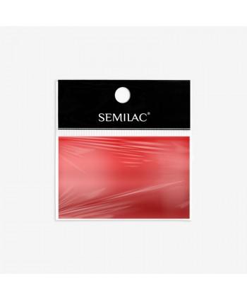 04 Semilac transfér fólia Red