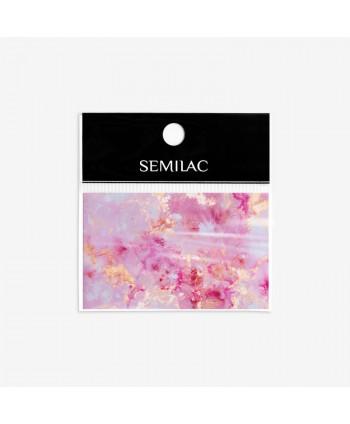 12 Semilac transfér fólia Rose Gold Marble