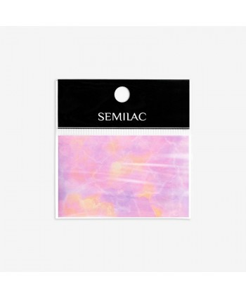 11 Semilac transfér fólia Pink Marble