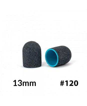 Brusné kloboučky na pedikúru AlleMed 10ks 13mm zrnitost 120