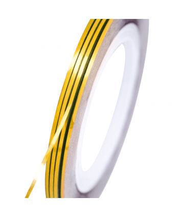 NeoNail zdobiaci pásik zlatý