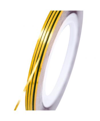 NeoNail zdobiaci pásik  zlatý holografický