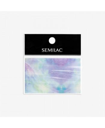 09 Semilac transfér fólia Pink  Blue Marble