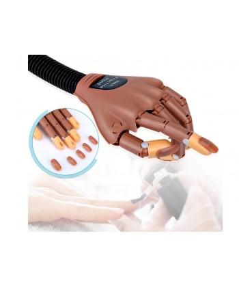 Pohlyblivá cvičná ruka + 100ks náhradné tipy
