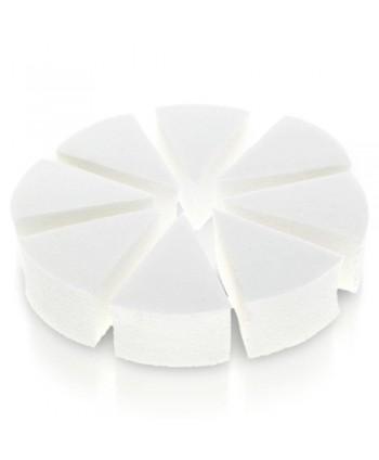 Kozmetické hubky 8 ks na ombré a make up biele