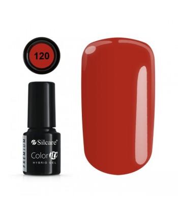 Gél lak Color IT Premium 120  6 ml