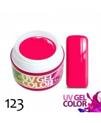 Neonový gél ružový 123  5g
