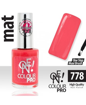 Lak na nechty-ONE COLOUR 778