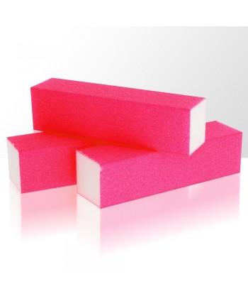 Brúsny blok - neón ružový 240/240