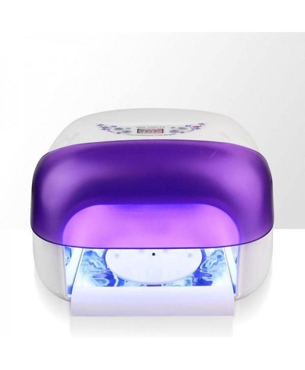 36W UV LAMPA S LCD disleji a sušičky FIALOVÁ Fialová