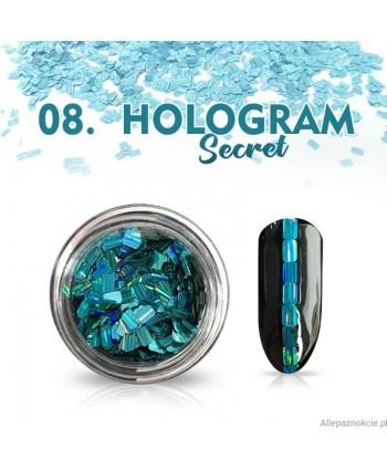 Hologram Secret 08 - tyrkysové