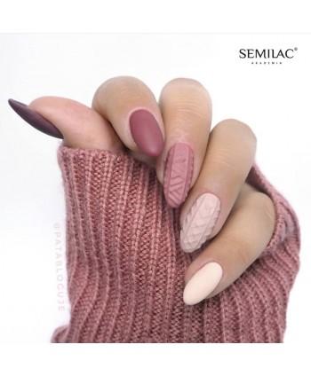 Semilac štylizácia svetríkové zdobenie 03