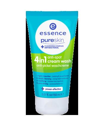 Essence pure skin anti-spot umývací krém 4v1