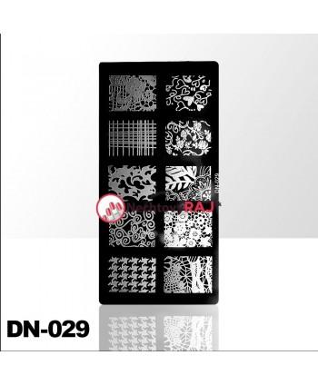 Doštička na pečiatkovanie DN029
