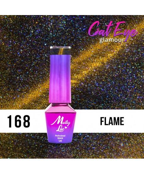 168. MOLLY LAC gel lak - Cat Eye Glamour Flame 5ml